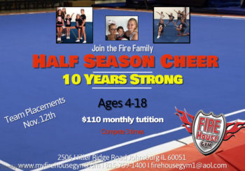 Coming Soon…. Half Season Cheer!