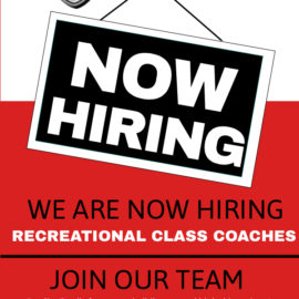 We're Hiring @ the Gym!
